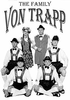 Family Von Trapp Meets Elvis, Buddy and Marilyn - What an Interesting Concept