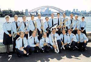 Air Force Band in a Jazzy Mood