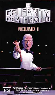 Celebrity deathmatch commentators